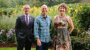 James Alexander Sinclair, Joe Swift and Ann Marie Powell