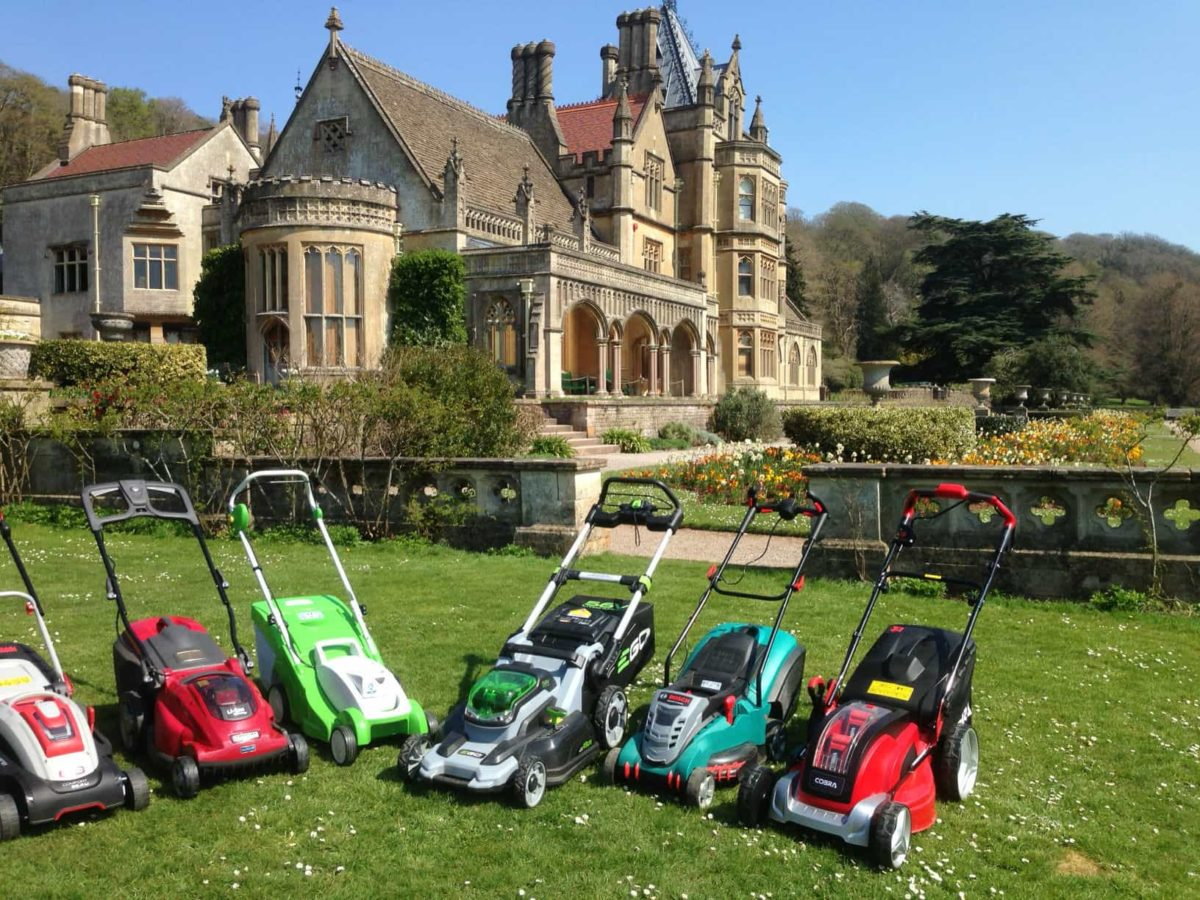 Mowers test @ Tyntesfield for the Daily Telegraph
