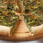 Chard and Dolcelatte tart