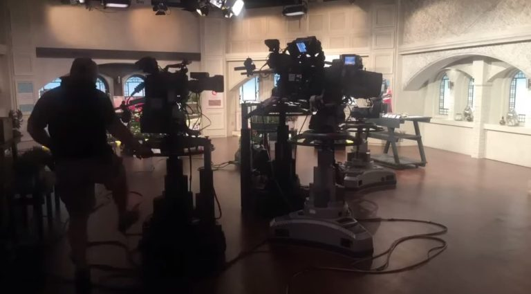 Behind the scenes with Richard at QVC