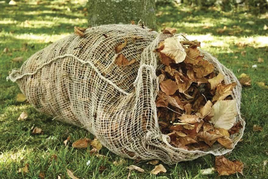 Composting Leaf Sacks from Netherwallop Trading