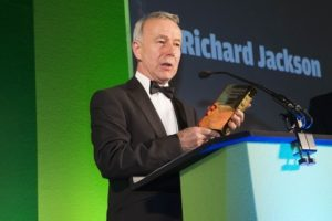 Richard Jackson wins Lifetime Achievement Award