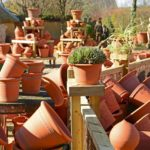 Pots for sale at Whichford Pottery