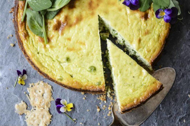 pea cheesecake