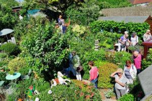 garden vistors