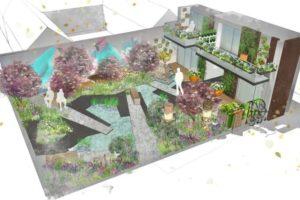 RHS Greening Grey Britain Garden 2017