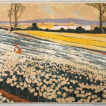 Daffodil Field Paintings