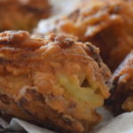 Delicious onion bhajees