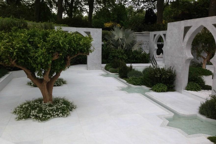 The Beauty of Islam garden
