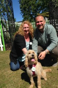 Charlie Dimmock and Ian Drummond