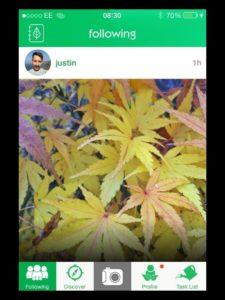 GardenTags app