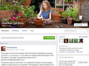 Guardian gardens Facebook page