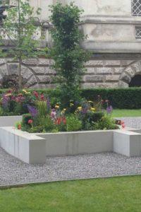 Hepworth inspired garden