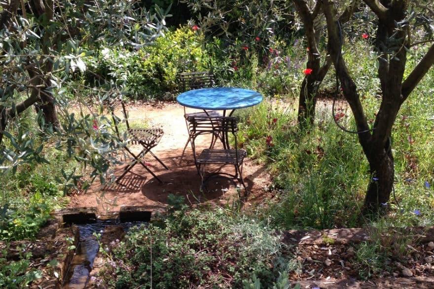 LOccitane garden