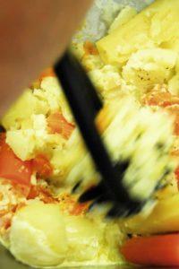 Root vegetable mash