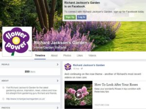 Richard Jackson's Garden Facebook