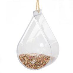 Dew Drop Bird Feeder with Bird Food