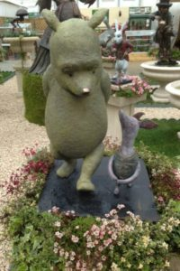Winnie the Pooh and Piglet bronze