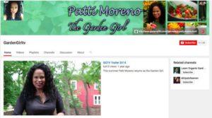 The Garden Girl YouTube channel
