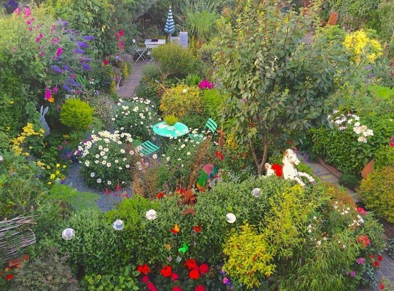 A happy place; Driftwood Garden
