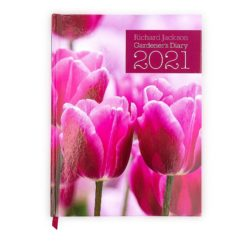 Richard Jackson Gardener's Diary 2021 front cover