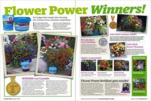 Garden News Flower Power Winners