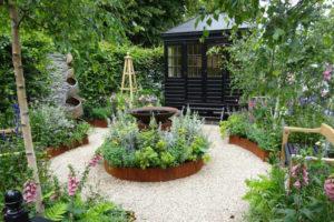A Summer Retreat garden