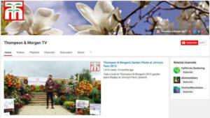 Thompson & Morgan YouTube channel