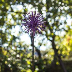 Painted Allium Stake