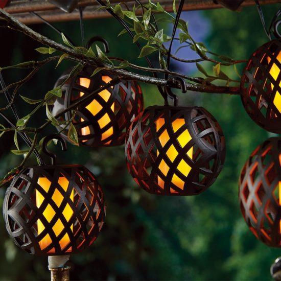 Solar Flame Lanterns