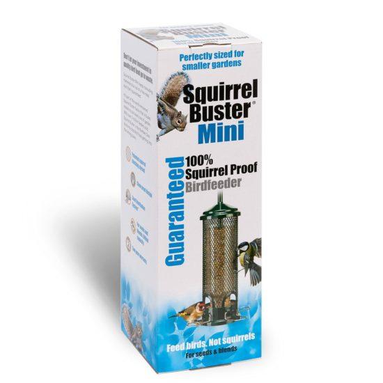 Jacobi Jayne squirrel buster mini bird feeder in box cut out