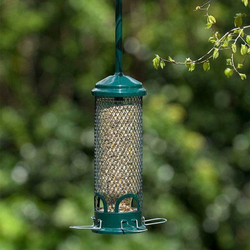 Jacobi Jayne squirrel buster mini bird seed feeder