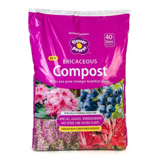 Flower Power Ericaceous Compost 40 litre bag