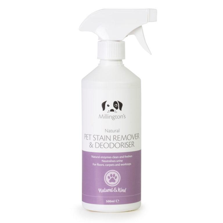 Millingtons Pet Stain Remover & Deodoriser bottle front