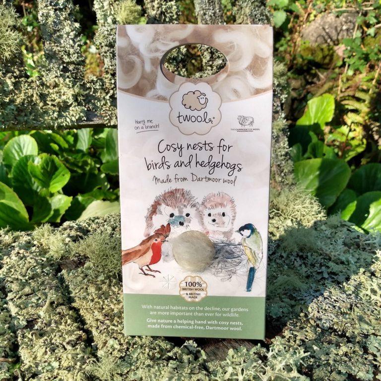 Twool nesting wool packaging