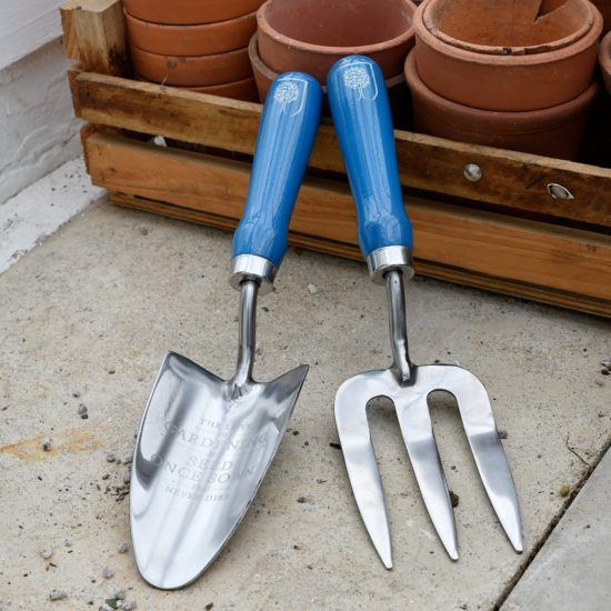 Burgon & Ball British Meadow Collection Trowel and Fork