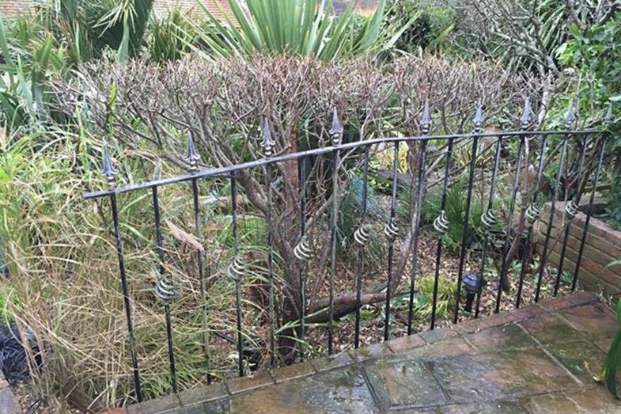 recycled metal gates