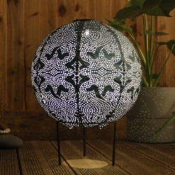 Lightstyle London Solar Globe Lantern on stand