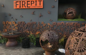 Firepits stand at Chelsea