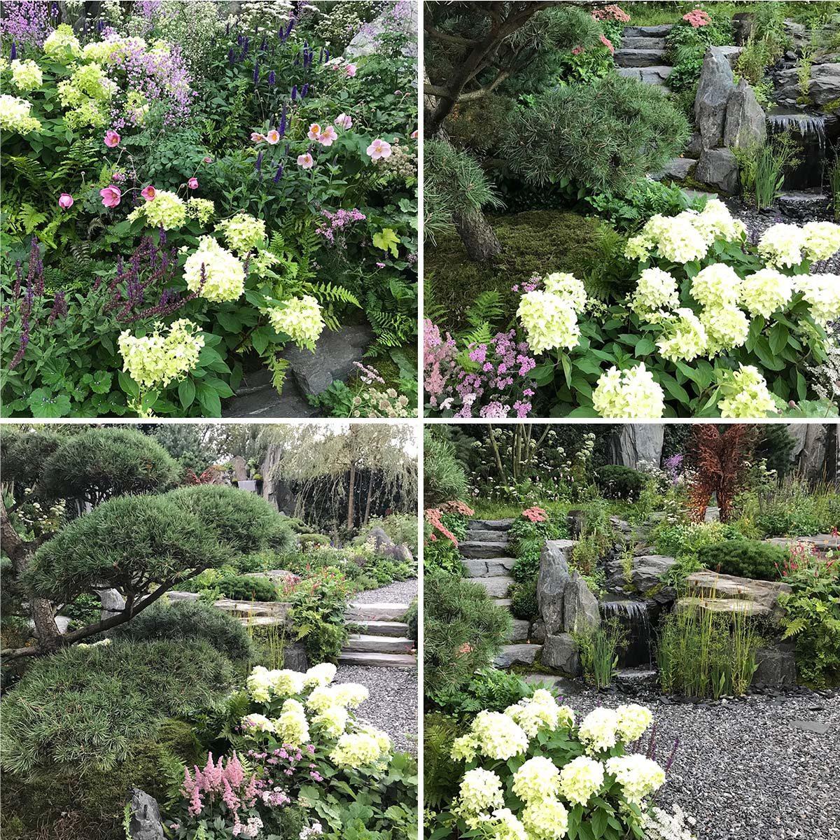 Bodmin show garden Chelsea 2021