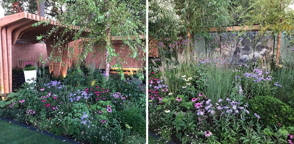 Florence Nightingale Show Garden Chelsea 2021