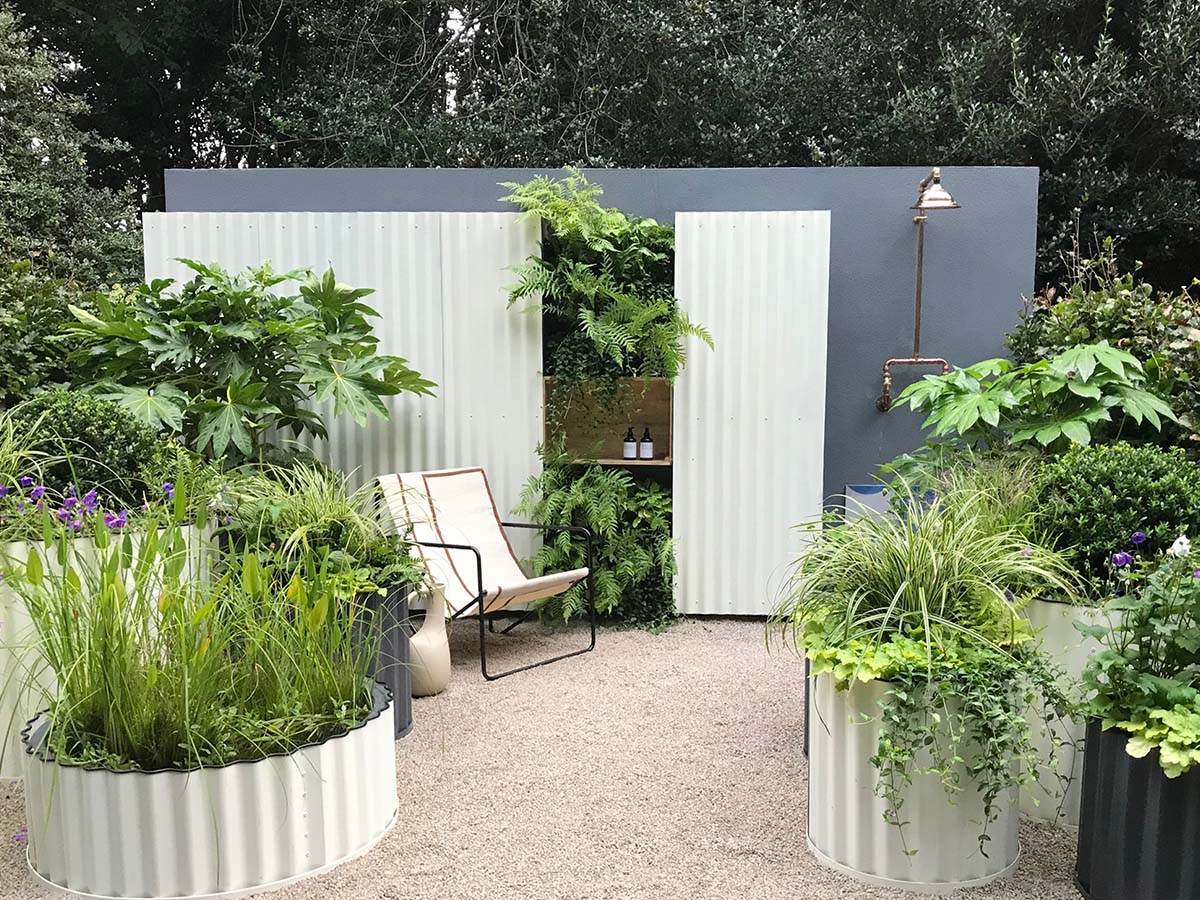 Hot Tin Roof - Chelsea Flower Show 2021