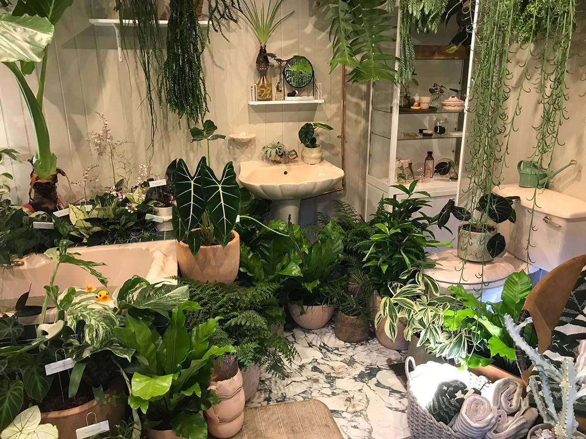 Green Bathroom Retreat - Chelsea Flower Show 2021