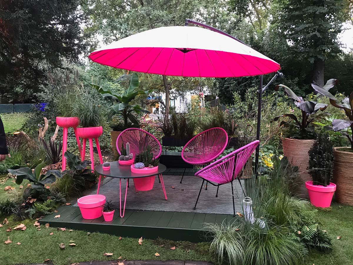 Outside The Plant Room - Chelsea Flower Show 2021