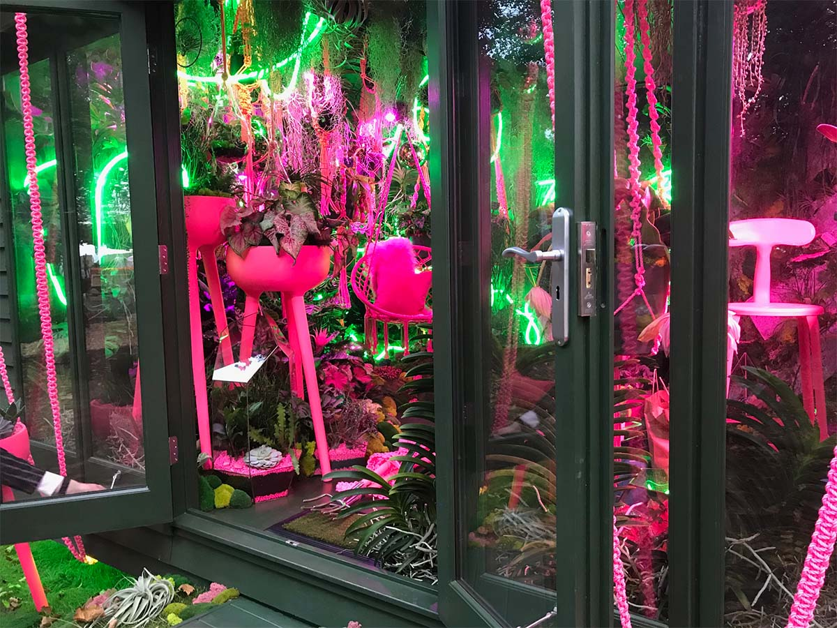 The Green Room at Chelsea Flower Show 2021