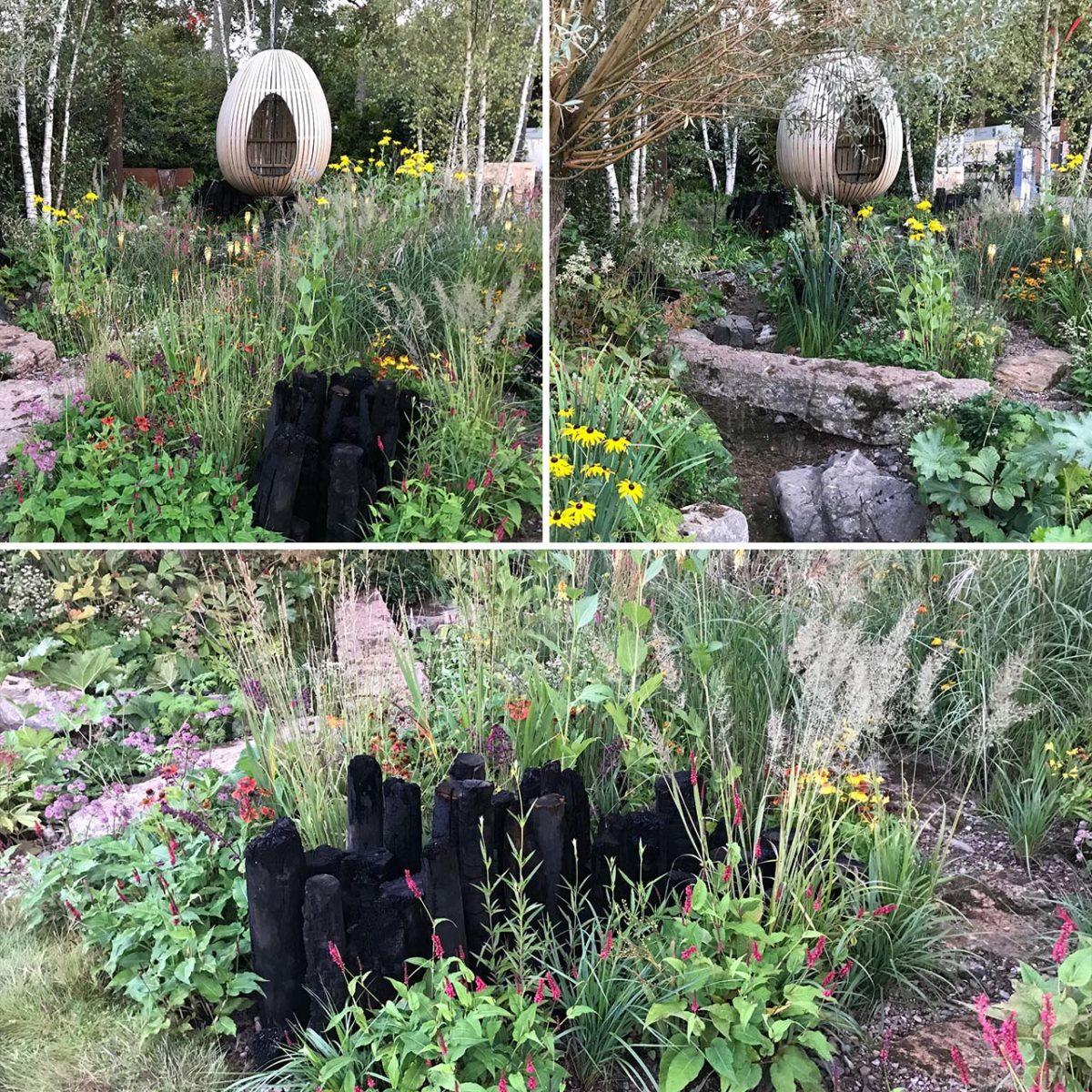 Yeo Valley show garden Chelsea 2021